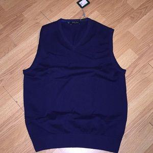 Tee Time w/Bobby Jones Peruvian Pima Cotton Vest